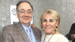 Barry and Honey Sherman are seen in this undated photo. (Credit: UJA Federation of Greater Toronto)