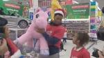Kyle Lowry donates toys