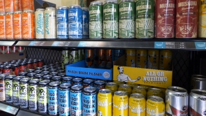 Canadian brewers welcome tariff exemption on imports of U.S. aluminum cans | CTV News