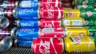 The COVID-19 pandemic is causing a shortage for some canned drinks. (Source: THE CANADIAN PRESS/Ryan Remiorz)