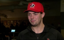 Goalie for Canada at World Juniors Colton Point