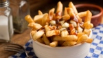 A bowl of poutine is seen in this undated file image.