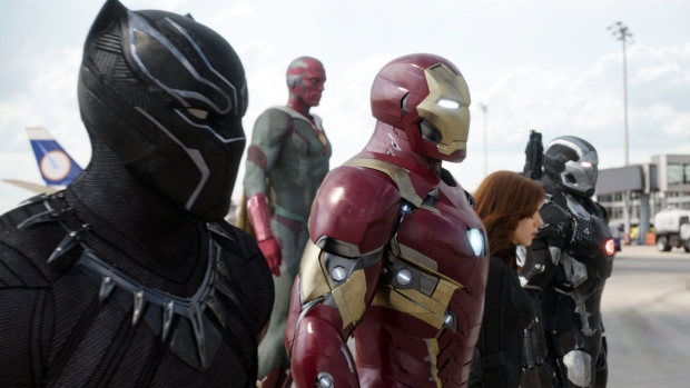 A scene from 'Captain America: Civil War'