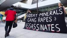 HudBay protest