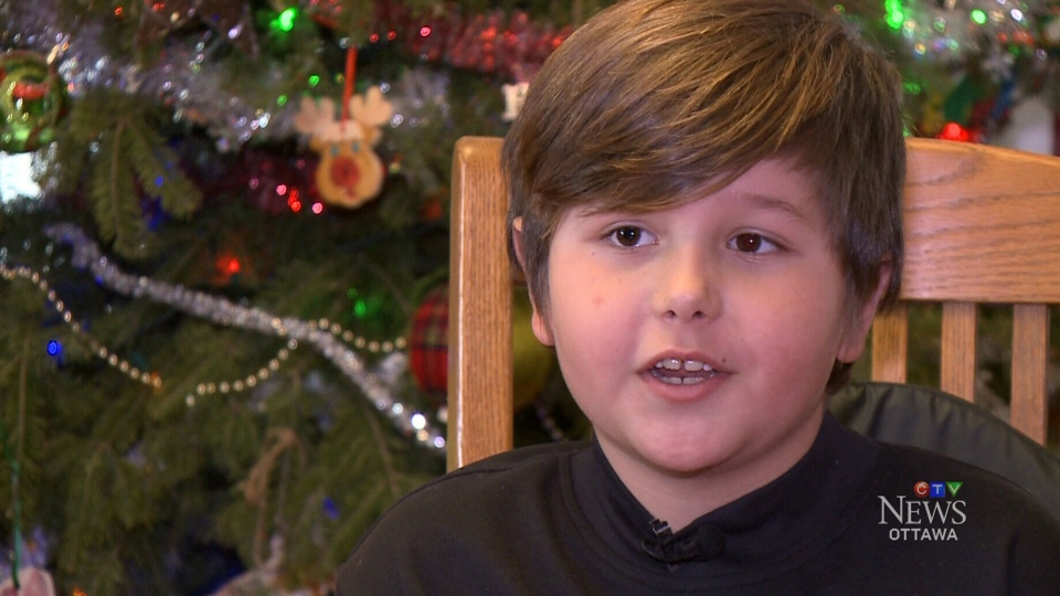 Mason Stewart, 8, lives with spinal muscular atrophy, which weakens his muscles and makes it difficult for him to perform everyday tasks. He's hopeful that a new drug, Spinraza, will help reverse the disease.