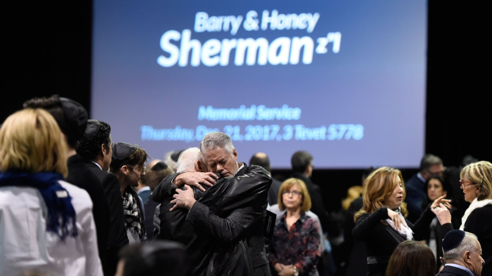 Sherman funeral