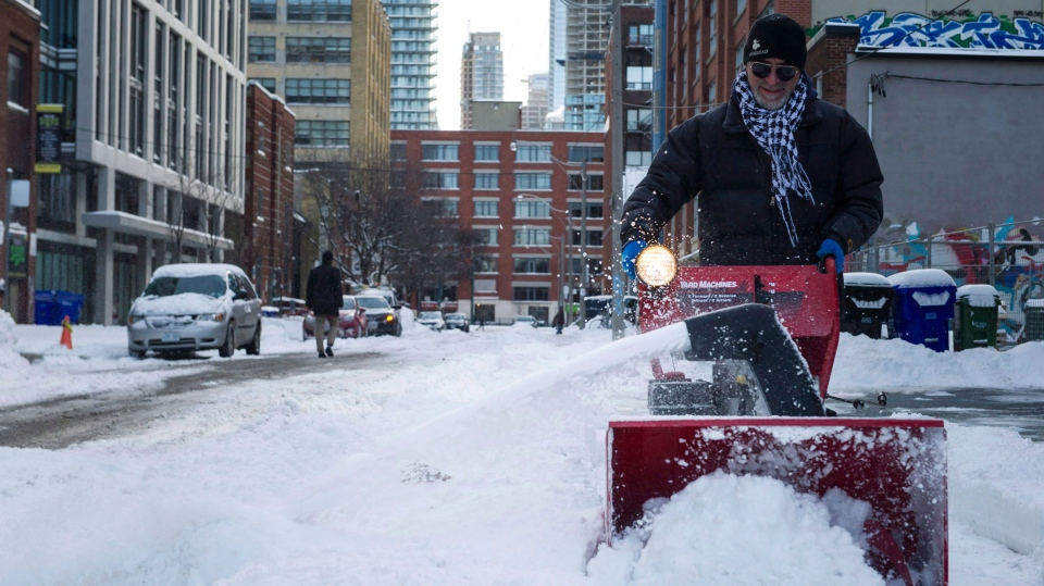 Snow Storm Toronto: Snow Headed To Toronto, GTA On First Official Day Of