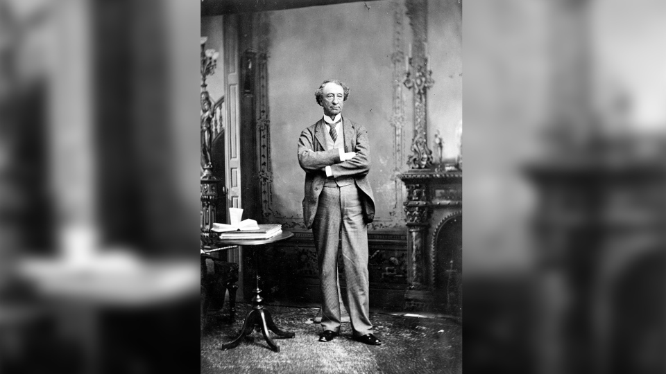 Sir John A. Macdonald is shown in an undated photo. (THE CANADIAN PRESS/National Archives of Canada)