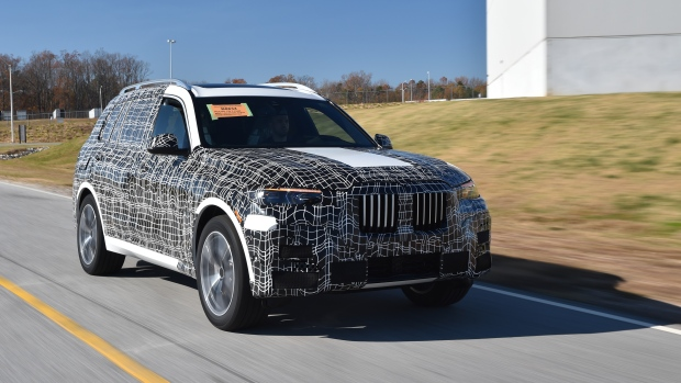 First pre-production BMW X7s roll off United States assembly line