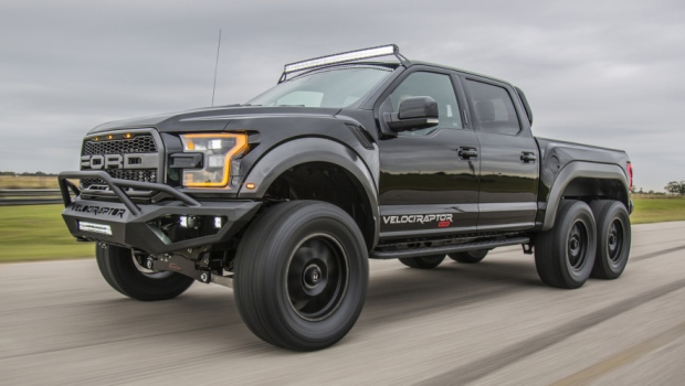 Hennessey announces production of US$349,000 VelociRaptor 6x6 pickup | CTV News | Autos
