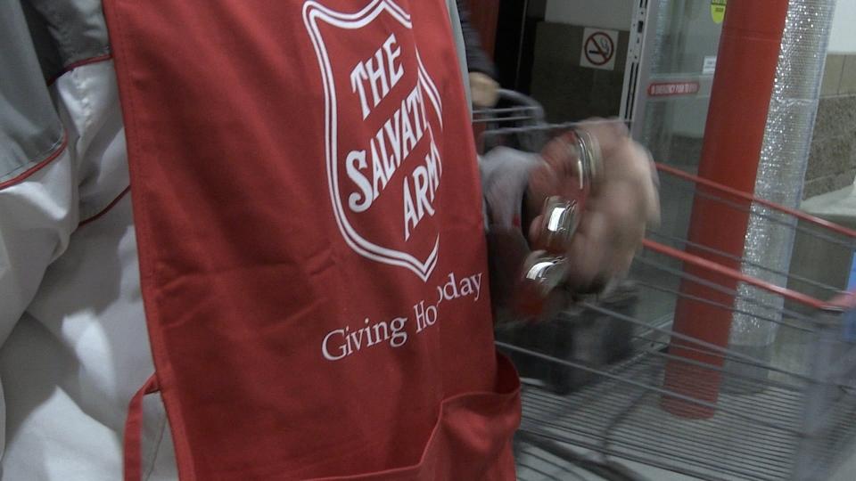 Salvation Army kettle fundraiser facing shortfall