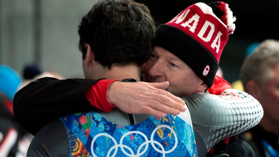 Canada luge relay Sochi Olympics