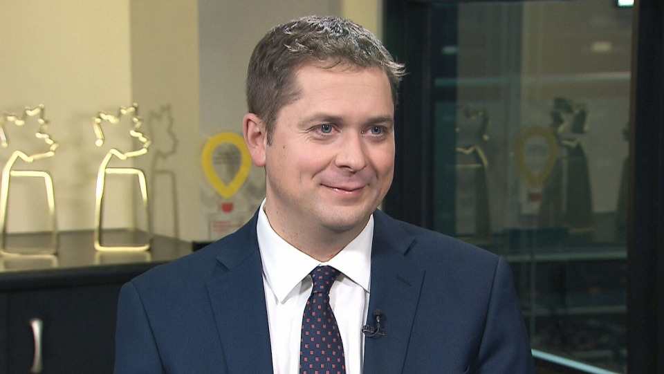 Conservative Leader Andrew Scheer on CTV's Question Period. He says his biggest challenge in the year ahead is becoming known.