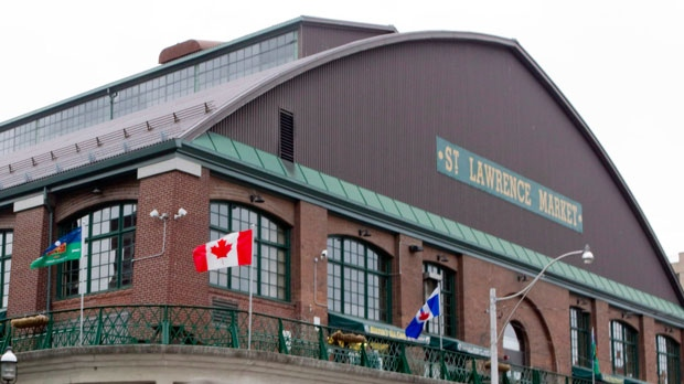 Toronto's St. Lawrence Market is seen on Saturday, June 2, 2012. THE CANADIAN PRESS/Chris Young