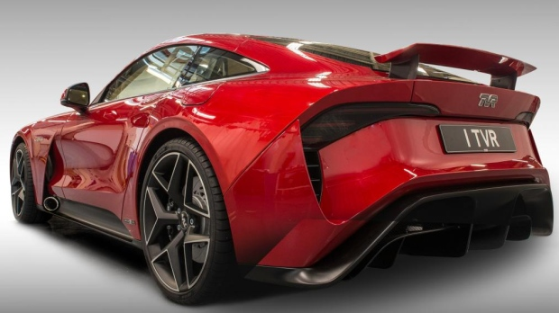 tvr releases video of new griffith being tested ctv news autos. Black Bedroom Furniture Sets. Home Design Ideas