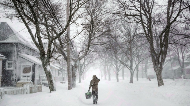 Snow on the Way for Maritimes