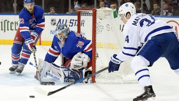 Matthews will play Saturday against Rangers