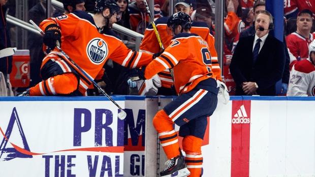 Edmonton Oilers' Connor McDavid