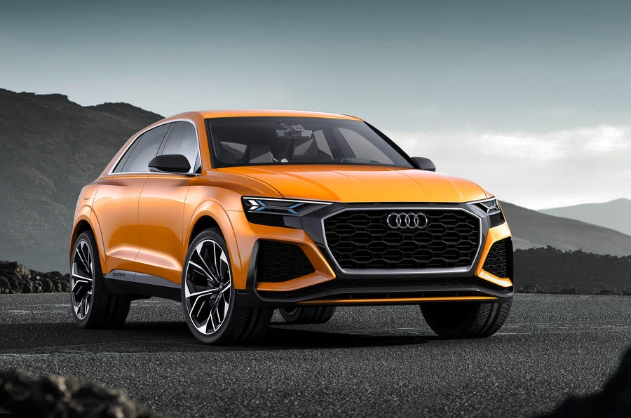 The Audi Q8 will eventually be made available as an SQ8 hot hybrid variant. (Audi)