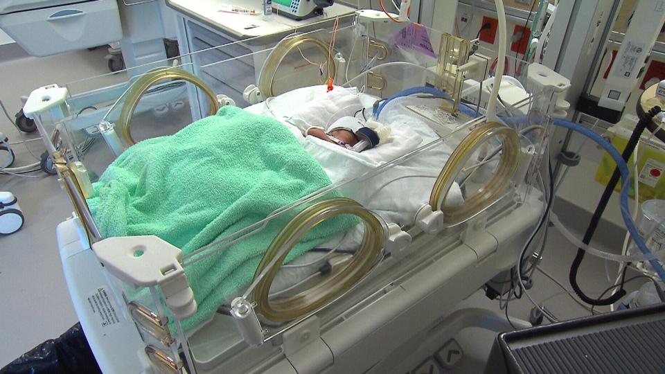 Preemie baby
