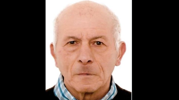 Umberto Ascenzi, 84, is shown in a handout image from TPS.