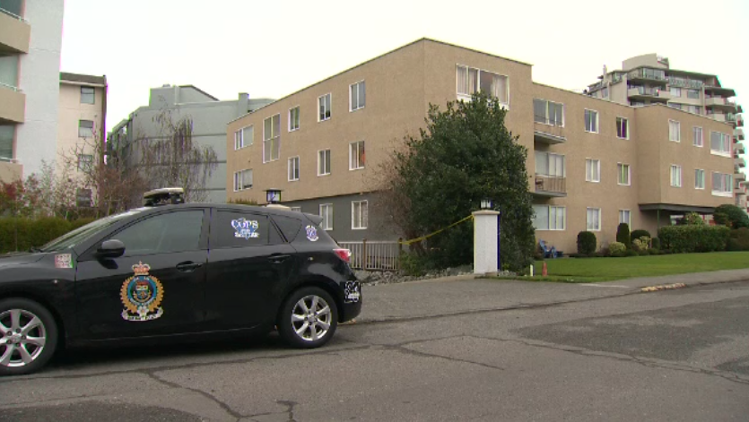The bodies of a four-year-old and six-year-old were found in an apartment in Oak Bay, B.C.