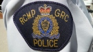An RCMP patch is seen in this file photo.
