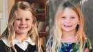 Six-year-old Chloe Berry, left, and four-year old Aubrey Berry are seen in these undated photos. (Handout)