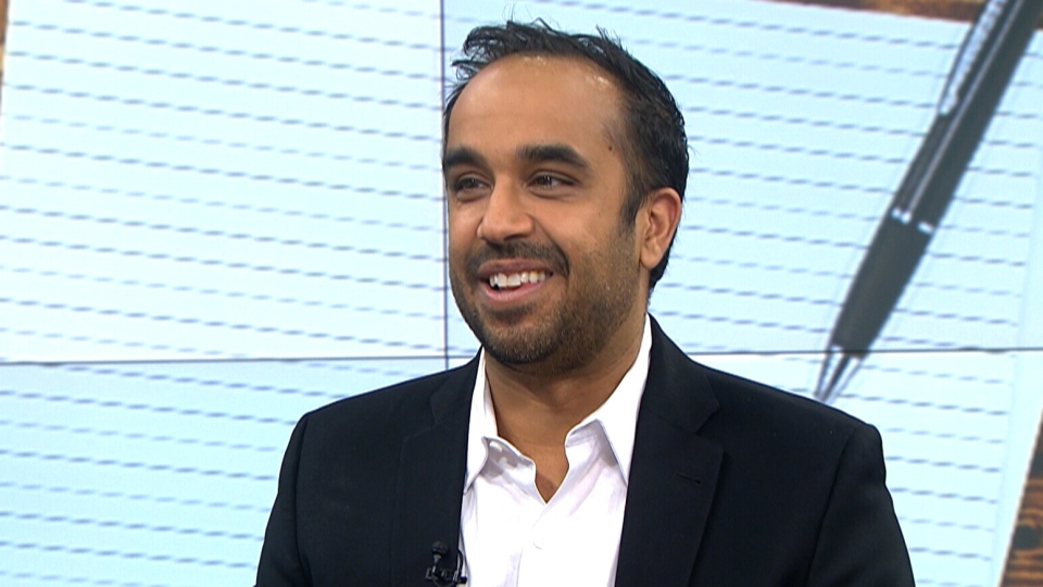 Neil Pasricha speaks to CTV's Your Morning on resolutions
