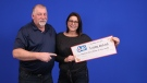 Martin and Mary Beelen won $1 million during the Dec. 6 Lotto 6/49 draw. (OLG)