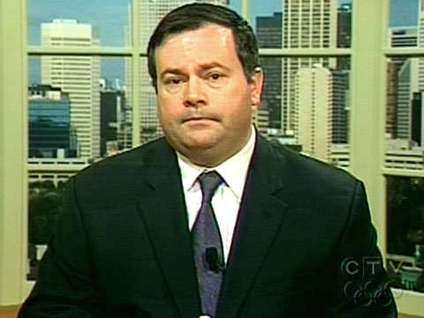Minister of Citizenship, Immigration and Multiculturalism Jason Kenney speaks on CTV's Question Period on Sunday, May 10, 2009.