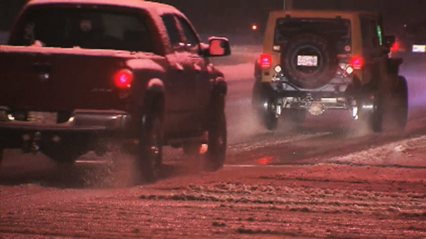 Freezing rain warnings in place for much of BC, including key highways