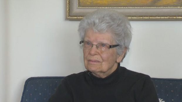 Leslie Eaton says she is forever grateful for a taxi driver who came to her aid after she fainted outside her Halifax apartment complex.