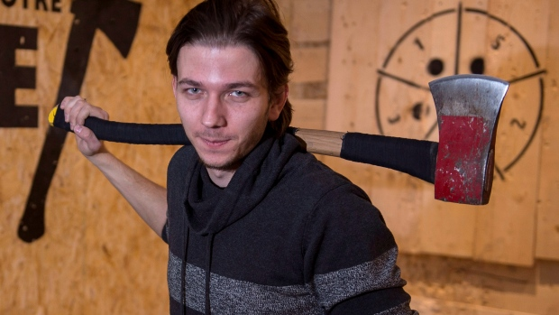 Anton Pushkari, Rage Montreal Axe Throwing Centre