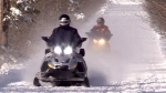 Snowmobile crash leaves teenage boy dead