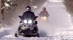 Snowmobile crash leaves teenage boy dead