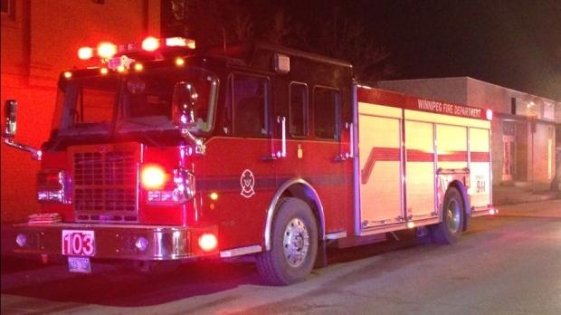 Winnipeg fire Department truck