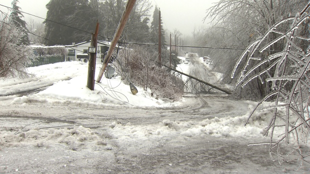 BC Hydro still working to restore electricity to 2,000