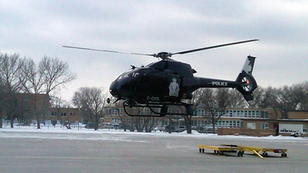 Police helicopter in movies