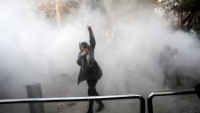 Tehran, Iran protest