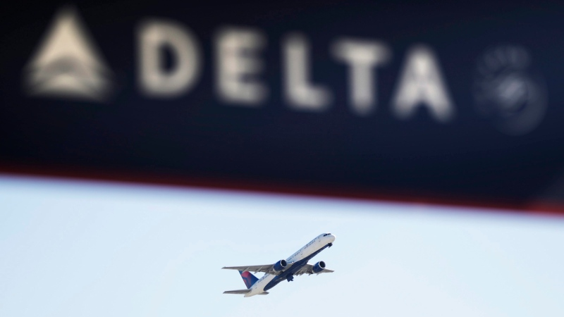 In this Jan. 30, 2017, file photo, a Delta Air Lines flight takes off from Hartsfield-Jackson Atlanta International Airport in Atlanta. (David Goldman/AP Photo)