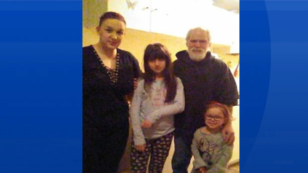 Jessica Sypher, left to right, Karlee Hodd, Kenneth Naves and Faith Sypher are seen in an undated family handout photo. (THE CANADIAN PRESS/HO-Jessica Sypher)