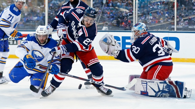 outlet store 0d867 91928 Miller's OT goal lifts Rangers past Sabres in Winter Classic ...
