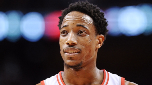 '5-on-8' comment nets $15K fine for DeMar DeRozan