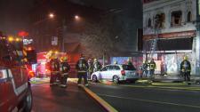 Firefighter injured