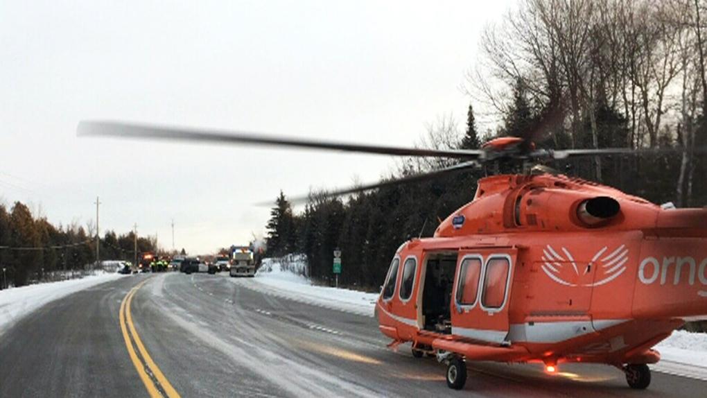 Fatal crash closes Highway 7 | CTV News Ottawa