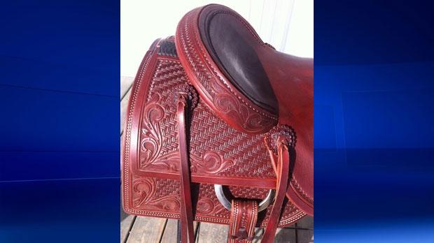 Stolen saddle