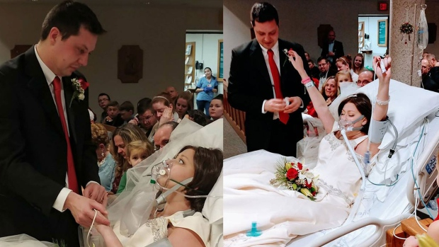 Woman with cancer gets married, dies 18 hours later