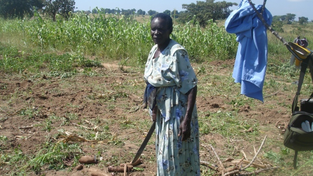 Lea Moini, South Sudanese refugee