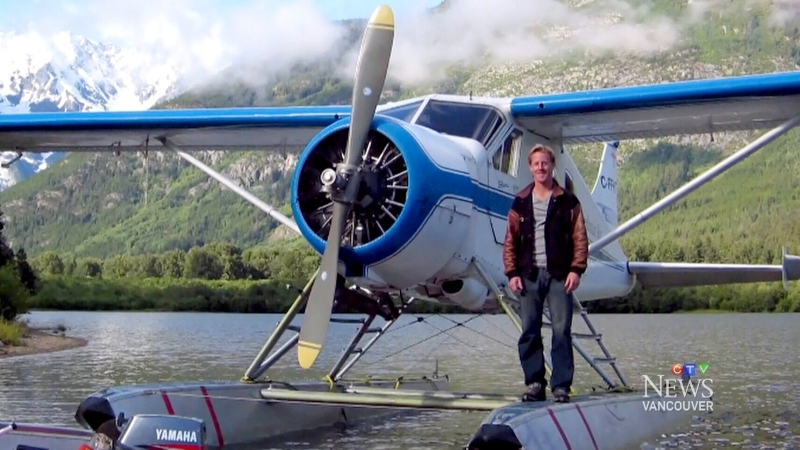 What caused Gareth Morgan's plane to crash?